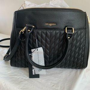 Karl Lagerfeld Agyness Leather Bag